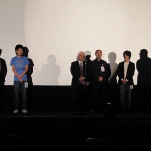 若手映像作家育成プロジェクト2012の上映会がありました