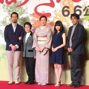 映画『おかあさんの木』クランクアップ報告会見