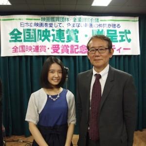 上白石萌音さん『舞妓はレディ』で2014年全国映連賞・女優賞受賞!!